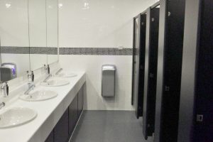 Acorn Works Ltd - Washrooms, Cambridge, Cambridgeshire - Washroom Refurbishment