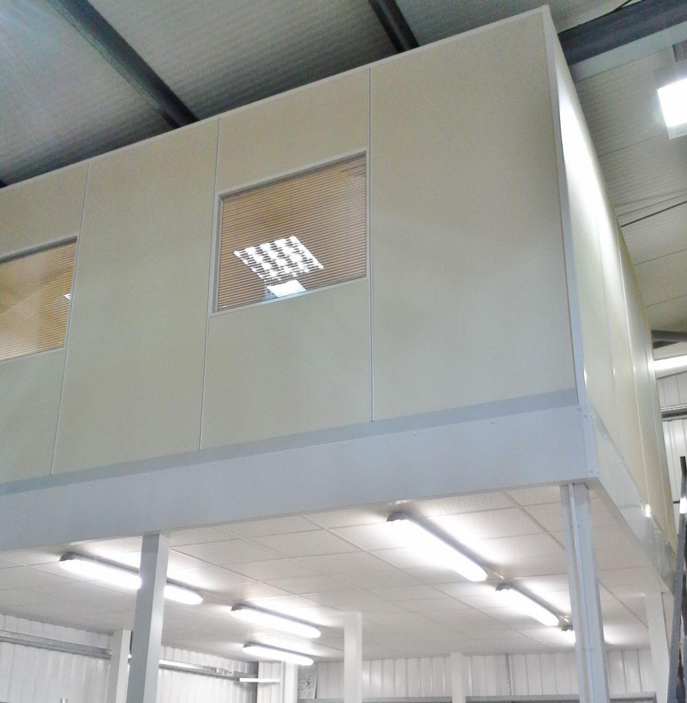 New Warehouse And Mezzanine Office