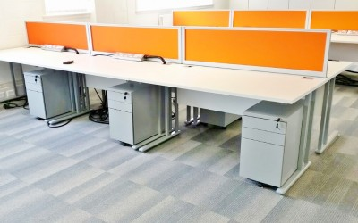 Office Furniture - Melbourn,Cambridgeshire installed by Acorn Works Ltd