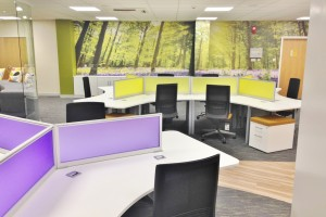 Office Furniture supplied and installed in Diss, Norfolk as part of a larger office refurbishment project completed by Acorn Works.