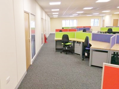 Office Refurbishment in Thetford, Norfolk by Acorn Works Ltd - Office Interiors