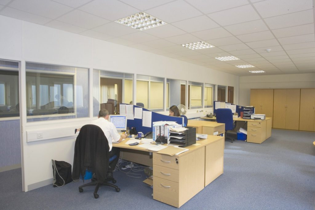 Workshop office refurbishment great yarmouth norfolk for Office refurbishment