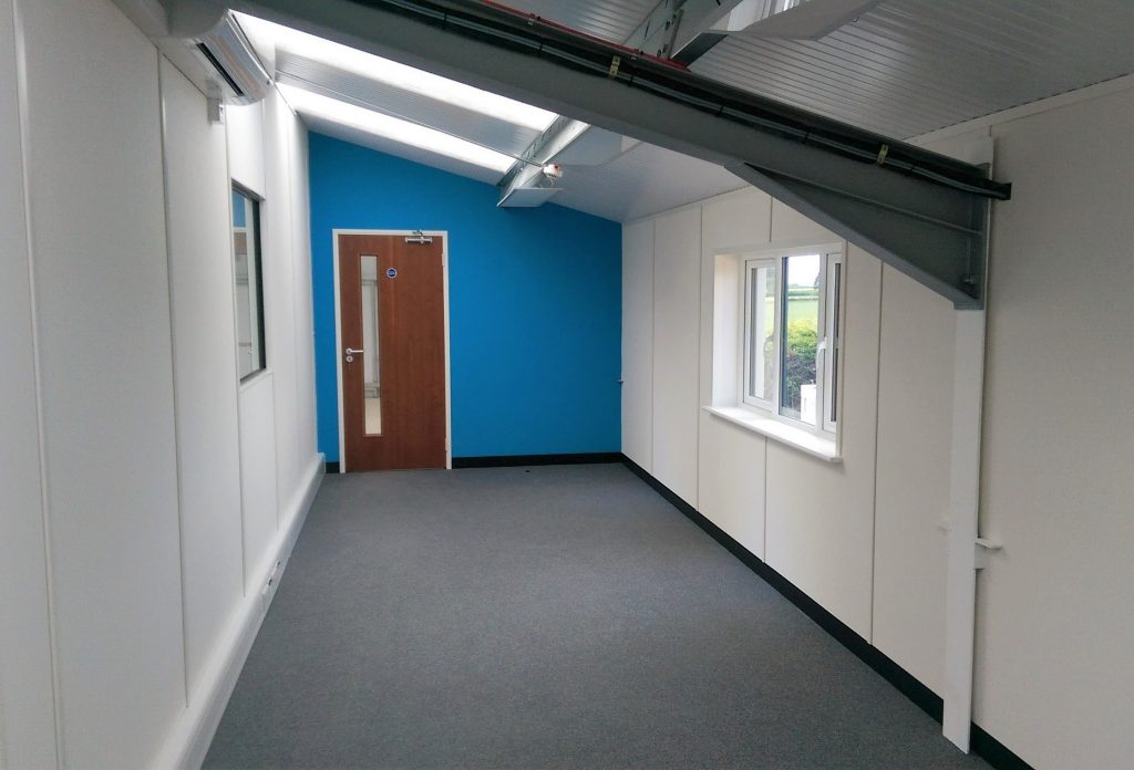 Mezzanine floor emc ltd acorn works for Office refurbishment