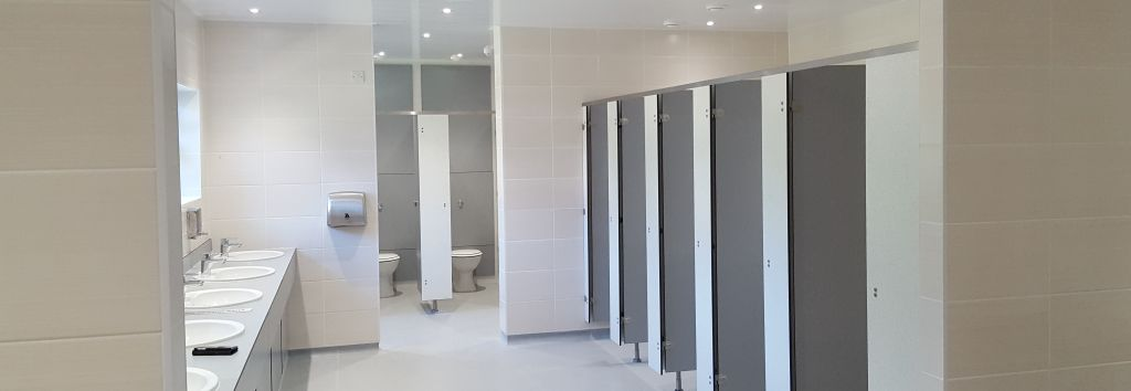 Broads Edge Marina Washroom Refurbishment Norwich, Norfolk