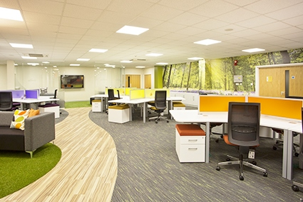 Office interior design norfolk suffolk and for Office design works