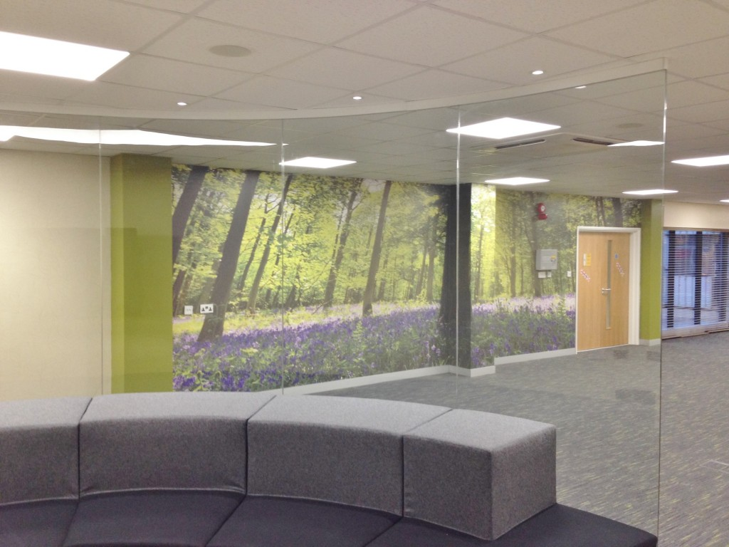 Glass Partition - Diss, Norfolk by Acorn Works Ltd