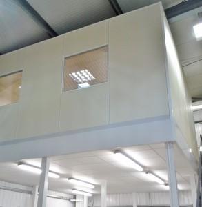 Mezzanine Floor installed by Acorn Works Ltd - Peterborough, Cambridgeshire