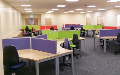 Office Refit/Office Refurbishment Project in Thetford, Norfolk completed by Acorn Works Ltd