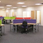 Office Refurbishment Project including office furniture, office partitioning, new flooring, new mechanical and electrical, new suspended ceiling, office seating, office fitout, new external windows, decoration based in Thetford, Norfolk