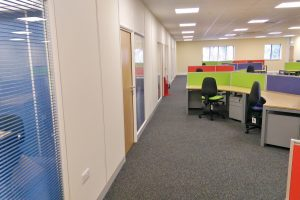 Office Refurbishment - Office Partitions and Suspended Ceilings