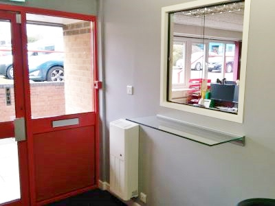 Reception Refurbishment in Thetford, Norfolk by Acorn Works Ltd