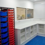 New QA Office and Lab installed by Acorn Works Ltd with office partitioning in Norwich, Norfolk