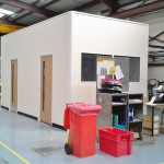 Turnkey Project with office partitioning for a site in Norwich, Norfolk installed by Acorn Works Ltd