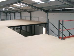 Mezzanine Floor Office Refurbishment - Norwich, Norfolk