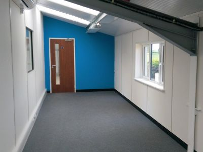 Mezzanine Office Refurbishment - Norwich, Norfolk