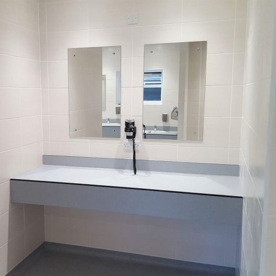 Washroom Refurbishment - Norwich, Norfolk