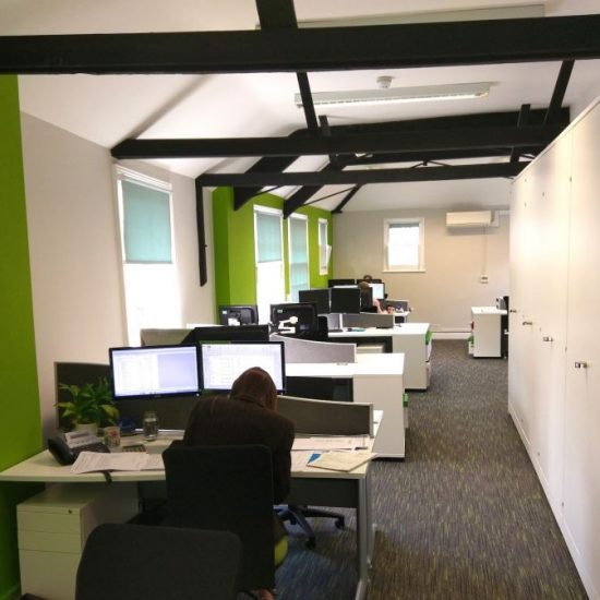 Argents Office Refurbishment Project in Norwich, Norfolk