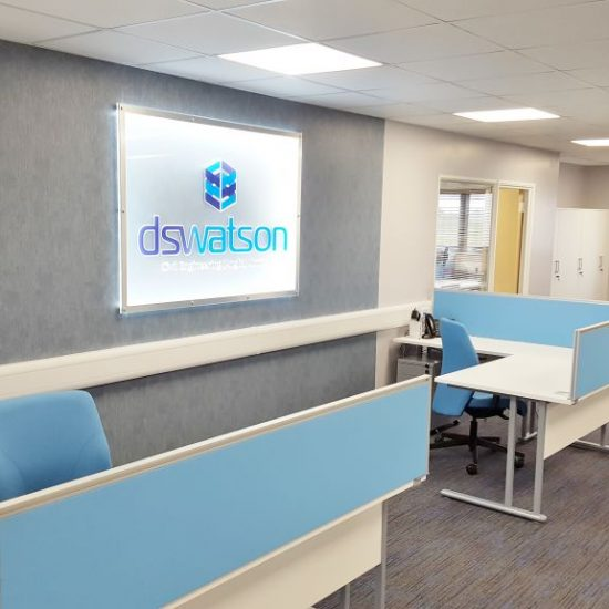 Mezzanine Office Refurbishment for DS Watson, Beccles, Norfolk