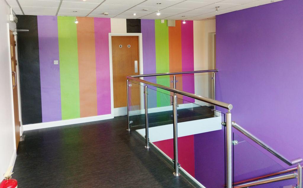 Reception Refurbishment for Kinnerton based in Fakenham, Norfolk