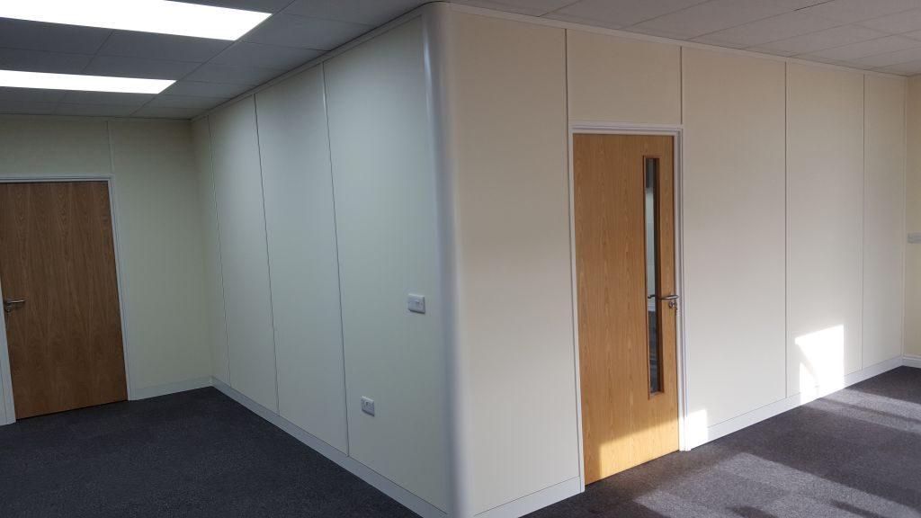Office Partitioning - Snetterton, Norfolk