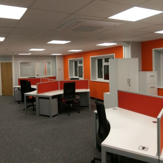 Office Refurbishment - M S Softwood, Kings Lynn, Norfolk