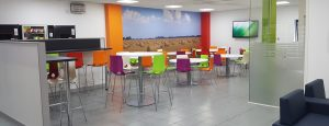 Canteen Refurbishment - Wisbech Cambridgeshire designed and completed by Acorn Works Ltd