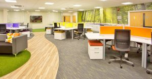 Office Interior Design and Office Fitout Project completed by Acorn Works Ltd