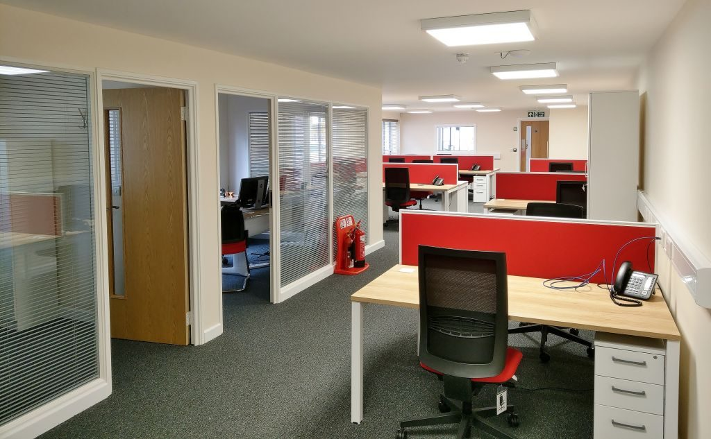 Office Fitout Jack Richards Office Partition Fakenham