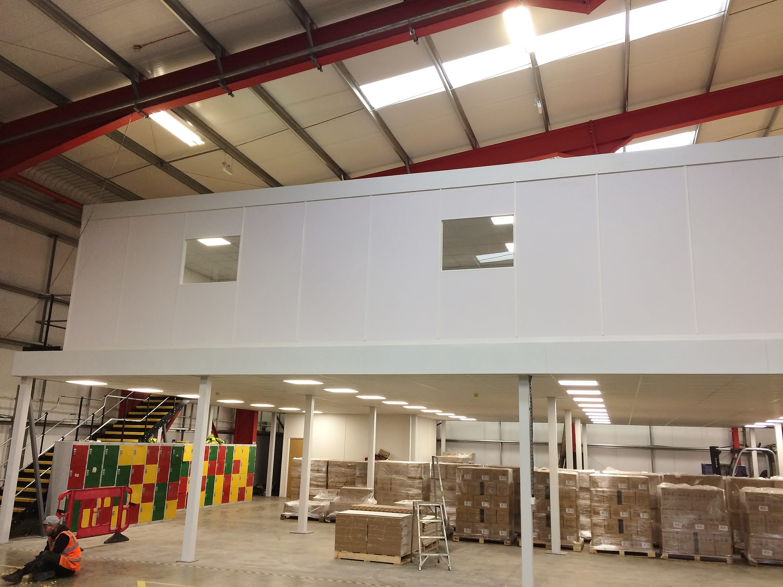Mezzanine Office Project for Tobar Group, Eye, Suffolk