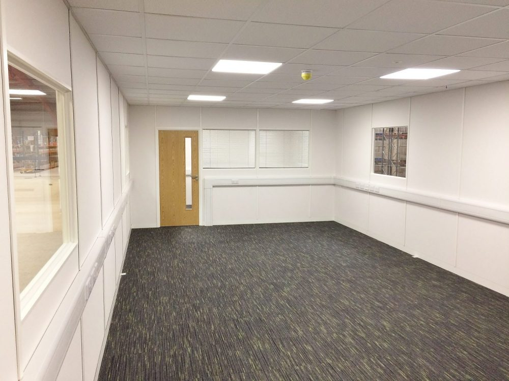 Mezzanine Office Project for Tobar Group, Eye, Suffolk