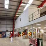 Mezzanine Refurbishment Project for Tobar Group, Eye, Suffolk