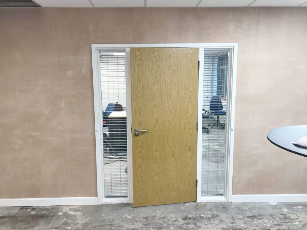 New doorway for existing paritition wall