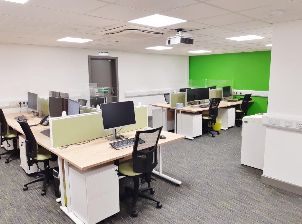Open Plan Office & Hygiene Screens
