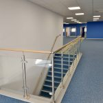 Commercial Office Interior - Custom Staircase